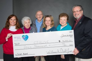 2016 Petit Family Foundation grant